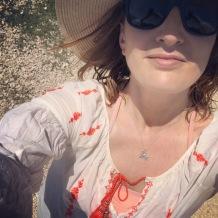 Anya Hayes at a yoga and mindfulness retreat